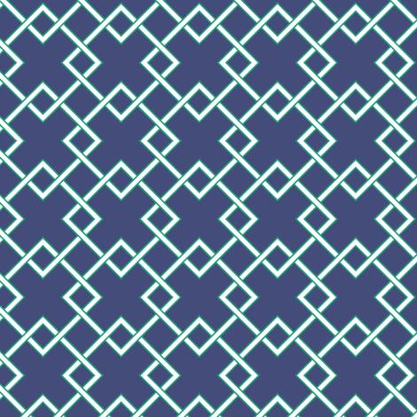 lattice  fabric by jillbyers on Spoonflower - custom fabric