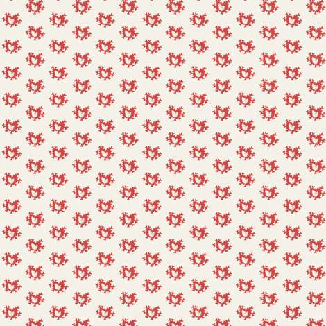 Coral Abstract  - smaller fabric by the_cornish_crone on Spoonflower - custom fabric