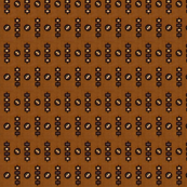 1838 Black & Brown Geometric