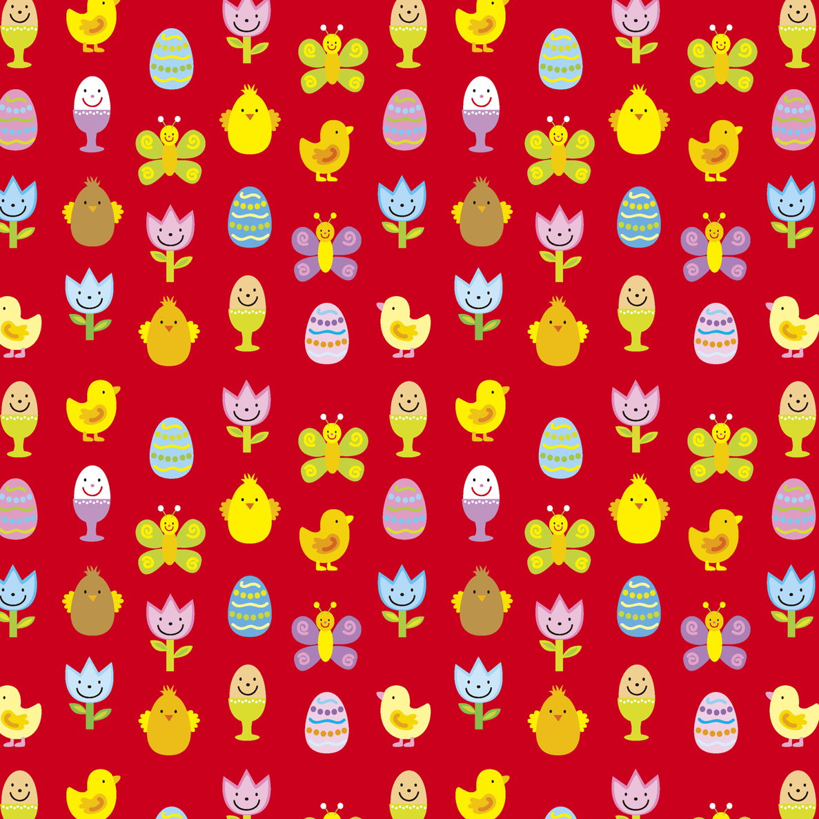 painted_eggs fabric by studioboe! on Spoonflower - custom fabric