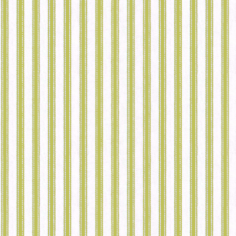 Ticking Stripe Avocado fabric by ragan on Spoonflower - custom fabric