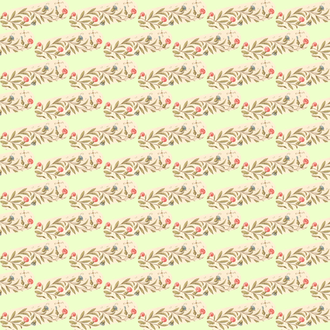 Ribbon Blossom fabric by amyvail on Spoonflower - custom fabric