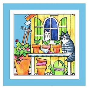 The Garden Shed 6-inch Square