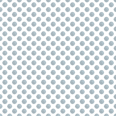 Blue and Gray Tweed Polka Dots fabric by karenharveycox on Spoonflower - custom fabric
