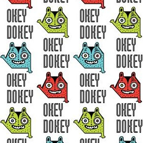 okey dokey monster