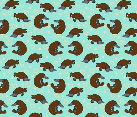 Rplatypus_spoonflower_new_shop_preview