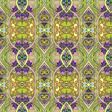 1912 Mansion Window  fabric by edsel2084 on Spoonflower - custom fabric