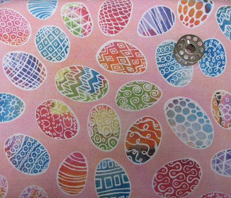 Painted Eggs Doodlestyle