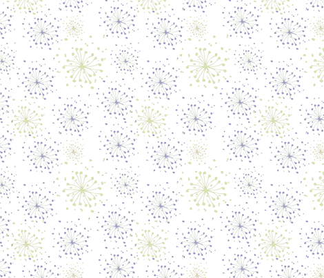 flowerburst fabric by pixidance on Spoonflower - custom fabric