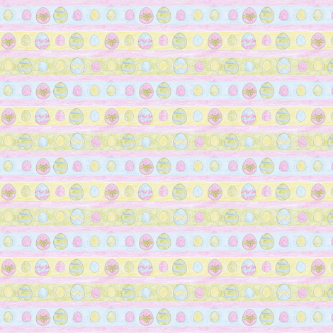 Painted_eggs fabric by sten on Spoonflower - custom fabric