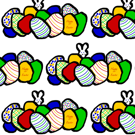 Easter Surprise fabric by nhhkoski on Spoonflower - custom fabric