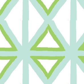 Green  Spring Lattice
