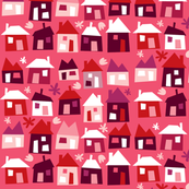 Houses - pink