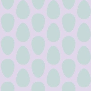 Free Range (robin's egg blue + pale lilac)