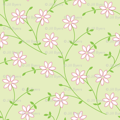 Daisy Vine light green