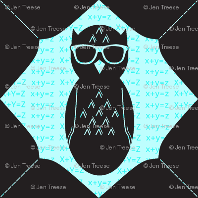 Geeky Owl Chevron