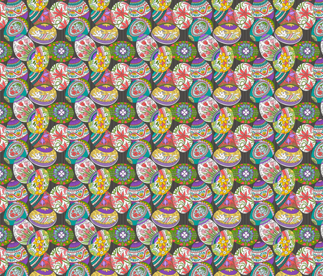 Ukrainian Mania  fabric by dianne_annelli on Spoonflower - custom fabric