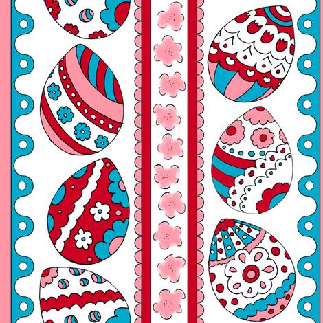 eggstatic fabric by pollywhistle on Spoonflower - custom fabric