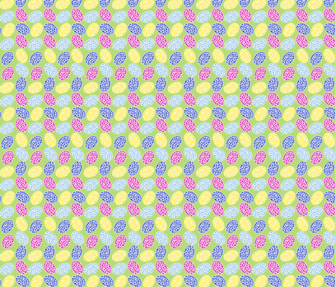 Easter Eggs Painted Mosaics fabric by madex on Spoonflower - custom fabric