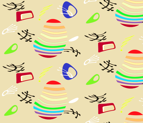 Fantastico fabric by retroretro on Spoonflower - custom fabric