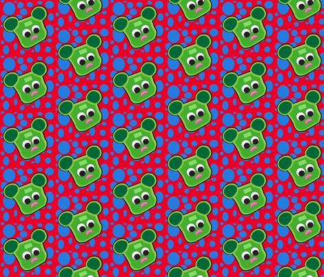 15_Bob_Head_Dots fabric by bob_smith on Spoonflower - custom fabric