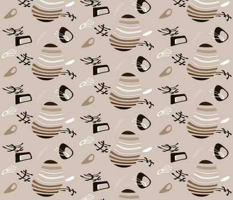 Fantastico3 fabric by retroretro on Spoonflower - custom fabric