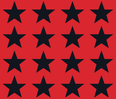Superstars Seeds of Victory fabric by juliesfabrics on Spoonflower - custom fabric