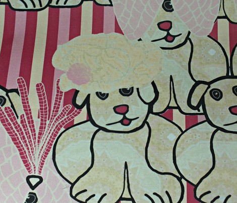 Lady Bertram had a pug (multicolor stripes)