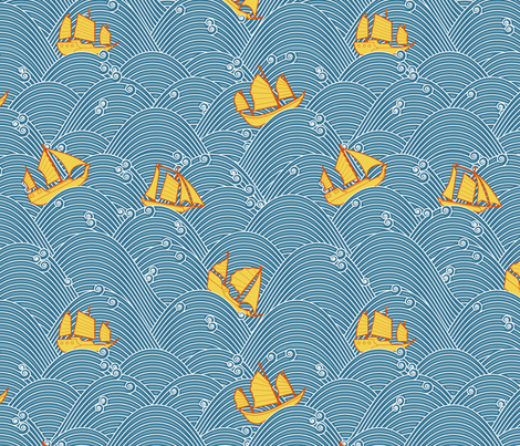 Sailboats and High Seas