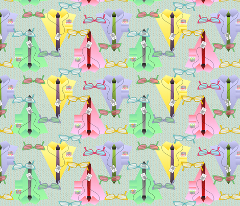geek chix dress code variant fabric by glimmericks on Spoonflower - custom fabric
