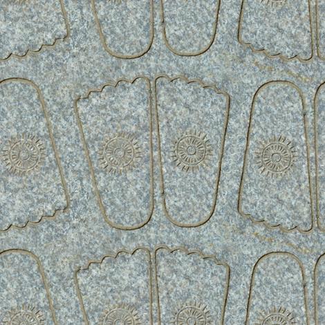 Buddha Footprints fabric by siya on Spoonflower - custom fabric