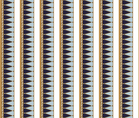 33_Royal_Street_stripes fabric by morrigoon on Spoonflower - custom fabric