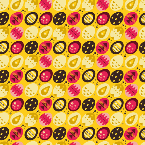 Eggio fabric by verycherry on Spoonflower - custom fabric