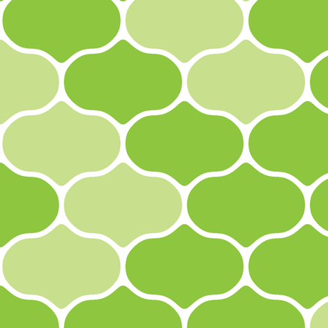 Spring Wire Lime fabric by inscribed_here on Spoonflower - custom fabric