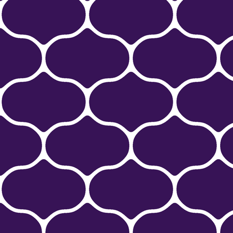 Wire Deep Grape fabric by inscribed_here on Spoonflower - custom fabric