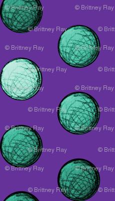 Teal Spheres