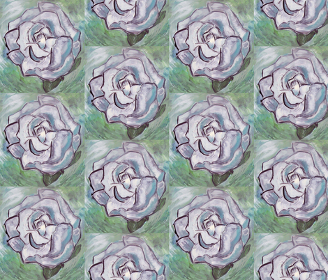white_rose_original fabric by dogdaze_ on Spoonflower - custom fabric