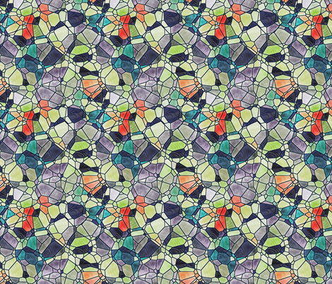 multicolored fabric by kociara on Spoonflower - custom fabric