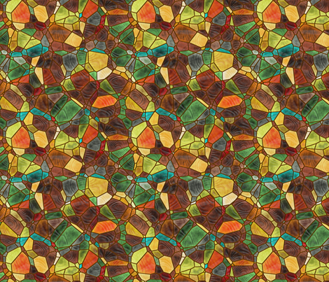 rusty browns fabric by kociara on Spoonflower - custom fabric