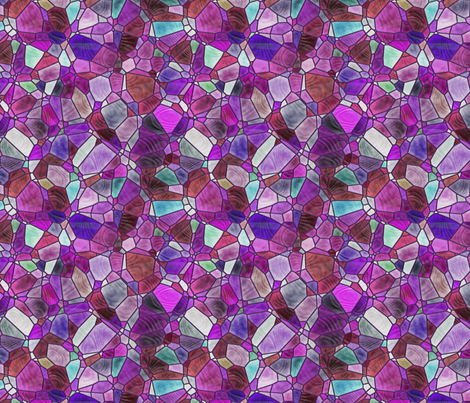 purple and violet fabric by kociara on Spoonflower - custom fabric