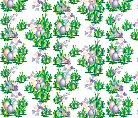 Easter_Egg_2013 fabric by sunshinebags on Spoonflower - custom fabric