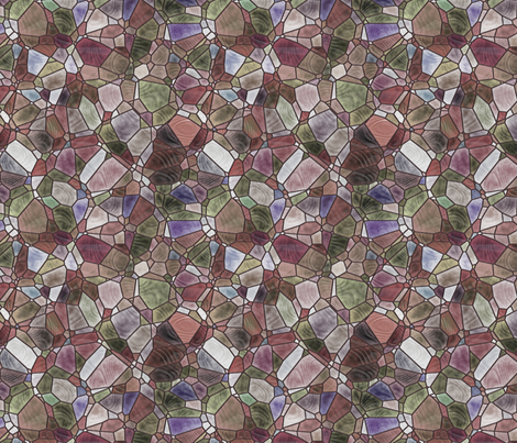 brown and grey fabric by kociara on Spoonflower - custom fabric