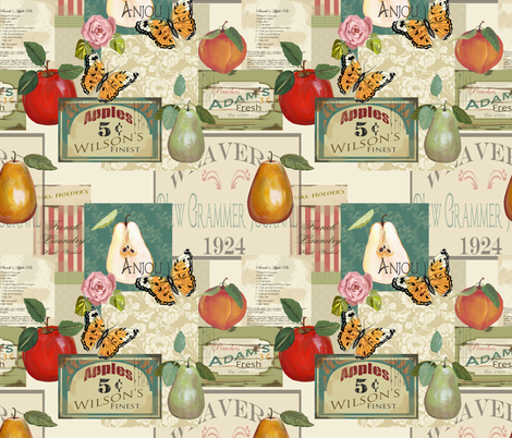 Sarah Wilson  fabric by lana_gordon_rast_ on Spoonflower - custom fabric