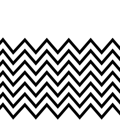 chevron white based fabric by pencilmein on Spoonflower - custom fabric