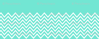 mint chevron