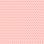 Small Peach Chevron
