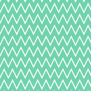 Small Mint Chevron