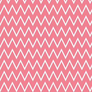 Small Coral Chevron