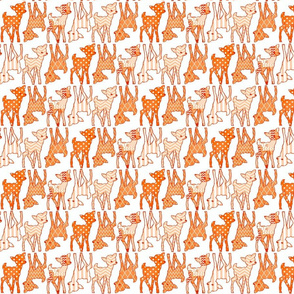 Two Way Orange Deer