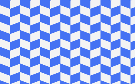 haring blue fabric by myracle on Spoonflower - custom fabric